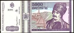 Rumanía 5.000 Lei PK 104 (5-1.993) S/C