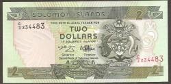 Islas Salomón 2 Dólares Pk 18 (1.997) S/C