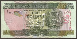 Islas Salomón 2 Dólares Pk 25 (1) (2.004) S/C