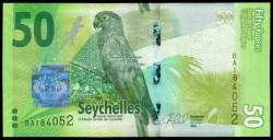 Seychelles 50 Rupias PK 49 (2.016) S/C