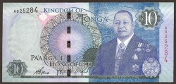 Tonga 10 Pa´anga PK 46 (2.015) S/C