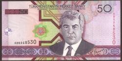 Turkmenistán 50 Manat Pk 17 (2.005) S/C