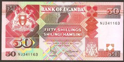 Uganda 50 Shillings PK 30c (1.998) S/C