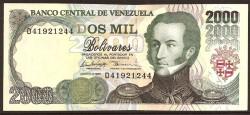 Venezuela 2000 Bolívares PK 77c (06-08-98) S/C
