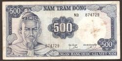 Vietnam del Sur 500 Dong PK 23a (1.966) MBC