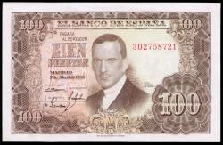 100 Pesetas 1953 Julio Romero de Torres S/C-