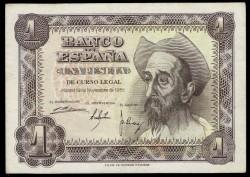 1 Peseta 1951 Don Quijote MBC+