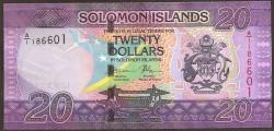 Islas Salomón 20 Dólares PK Nuevo (2.017) S/C