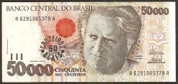 Brasil 50.000 Cruzeiros PK 234 (1.992) S/C