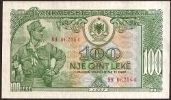 Albania 100 Leke PK 30 (1.957) EBC
