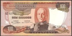 Angola 100 Escudos PK 101 (24-11-1.972) S/C