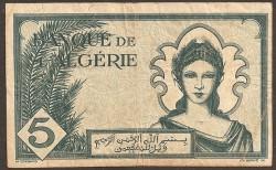 Argelia 5 Francos PK 91 (16-11-1.942) MBC-