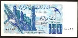 Argelia 100 Dinares PK 131 (1-11-1.981) S/C