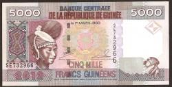 Guinea 5.000 Francos PK 41b (2.012) S/C