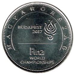 Hungría 2017 50 Forint. Mundial de Natación Budapest 2017 S/C