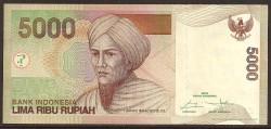 Indonesia 5.000 Rupias PK Nuevo (142) (2.016) S/C