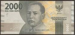 Indonesia 2.000 Rupias PK Nuevo (2.017) S/C