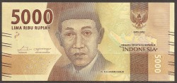 Indonesia 5.000 Rupias PK Nuevo (2.017) S/C