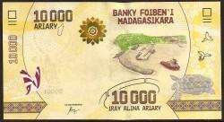 Madagascar 10.000 Ariary PK Nuevo (2.017) S/C