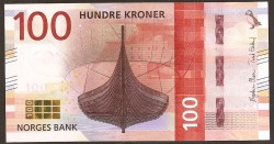 Noruega 100 Coronas Pk 49 (2.006) S/C