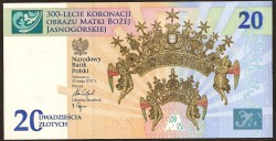 Polonia 20 Zlotych PK Nuevo (17-5-2.017) S/C