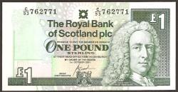 Escocia 1 Libra Pk 351e (1-10-2.001 ) S/C