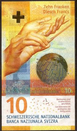 Suiza 10 Francos PK 67c (2.008) S/C