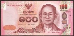 Tailandia 100 Baht Pk Nuevo (2.017) S/C