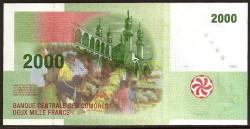 Comores 2.000 Francos PK 17 (2.005) S/C