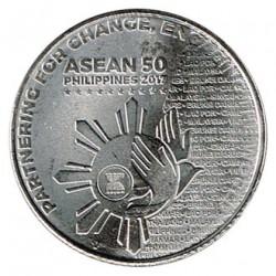 Filipinas 2017 1 Piso. ASEAN S/C