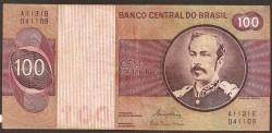 Brasil 100 Cruzeiros PK 195Ab (1.974-81) MBC-