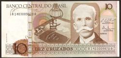 Brasil 10 Cruzados PK 209b (1.987) S/C