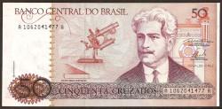 Brasil 50 Cruzados PK 210a (1.986) S/C