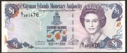 Islas Caimán 1 Dólar PK 30 (2.003) S/C