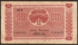 Finlandia 10 Markkaa Pk 85 (1.948) BC