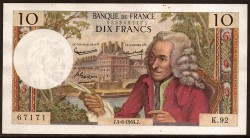 Francia 10 Francos PK 147a (4-6-1.964) EBC