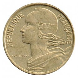 Francia 1963 - 1984 10 Céntimos MBC