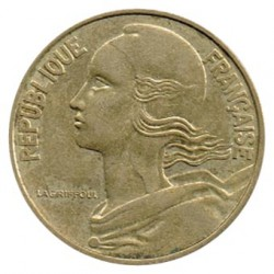 Francia 1963 - 1981 20 Céntimos MBC