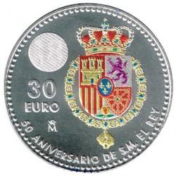 ABONO España 2018 30 Euros 50 Aniversario de Su Majestad el Rey