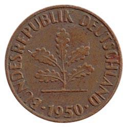Alemania 1948 - 1980 1 Pfennig MBC