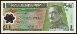 Guatemala 1 Quetzal PK 115 (12-3-2.008) S/C