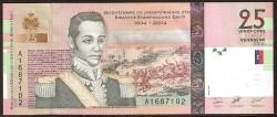 Haiti 25 Gourdes PK 273 (2.004) S/C