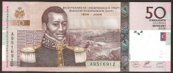 Haiti 50 Gourdes PK 274 (2.004) S/C