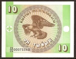 Kirguisistán 10 Tyiyn PK 2 (1.993) S/C