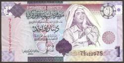 Libia 1 Dinar PK 71 (2.008) S/C