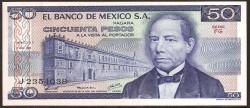 Méjico 50 Pesos PK 67a (5-7-1.978) S/C