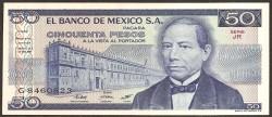 Méjico 50 Pesos PK 73 (1) (27-1-1.981) S/C
