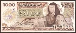 Méjico 1.000 Pesos PK 85 (19-7-1.985) S/C