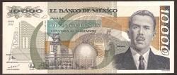 Méjico 10.000 Pesos PK 90d (16-5-1.991) S/C