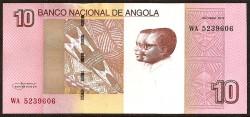 Angola 10 Kwanzas PK Nuevo (Octubre 2.012) S/C